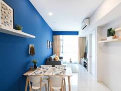 Minimalistic Scandinavian Dining Room Living Room@The Robertson @ Bukit Bintang