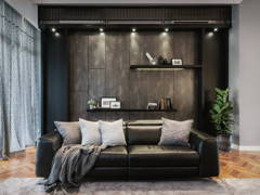 Contemporary Living Room@MASCULINE
