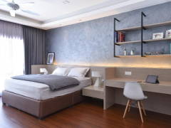 Contemporary Modern Bedroom@Wangsa Melawati