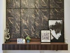 Contemporary Modern Living Room@Carnus Show Unit, Setia Eco Hill