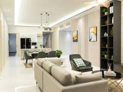 Modern Dining Room Living Room@Setia V Residence Type 23A-02