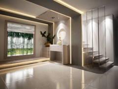 Contemporary Foyer@Contemporary Design @ Kayangan Height Bangalow