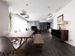 Modern Scandinavian Family Room Kitchen@Five Stones Petaling Jaya Selangor