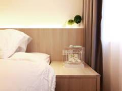 Minimalistic Zen Bedroom@Dwiputra Residence