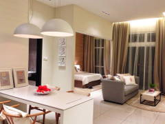 Minimalistic Living Room Bedroom@Adda Heights Show Unit (1A)