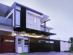 Contemporary Modern Exterior@Tay's Residence