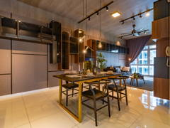 Contemporary Dining Room@Eco Sky Condominium