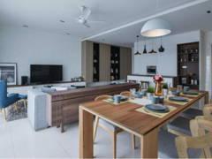 Scandinavian Living Room Dining Room@Andana @ D'Alpinia, Puchong