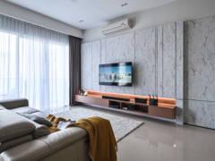 Contemporary Modern Living Room@Pavilion Hilltop