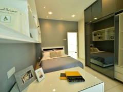 Contemporary Modern Bedroom@Serene Residence Rawang RT1