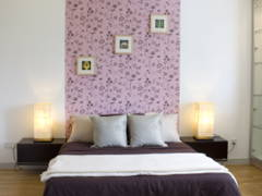 Contemporary Bedroom@Contemporary Design @ Zenia Desa Park City