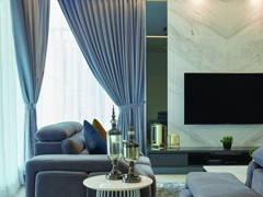 Contemporary Modern Living Room@Palmiera @ Kinrara Residence