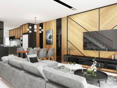 Classic Modern Dining Room Kitchen@TAMAN SRI MUDA, SHAH ALAM