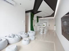 Contemporary Minimalistic Kitchen Living Room@THE FUTURE- SouthBank Residence, old klang road