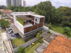 Rustic Modern Exterior@Kiara Residences