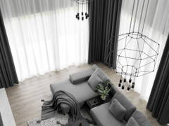 Contemporary Minimalistic Living Room@NEW HEIGHTS OF STYLE - Semi-D, Shah alam