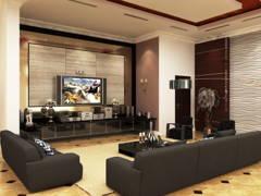 Classic Modern Living Room@Bungalow - Taman Sri Gombak