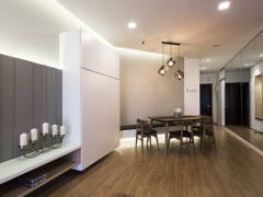 Contemporary Modern Dining Room@Waldorf Tower, Mont Kiara