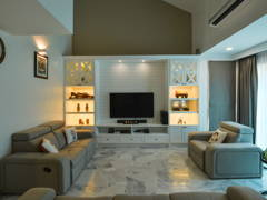 Classic Modern Living Room@Terrace House Sri Petaling