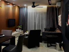 Contemporary Modern Living Room@C RESIDENCE