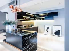 Classic Modern Kitchen@Seni Kiara Condo