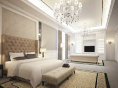 Classic Bedroom@4452 Bungalow, Johor Bahru
