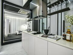 Modern Kitchen@The Suites Show Unit