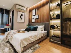 Minimalistic Modern Bedroom Study Room@Sunway velocity condo