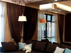 Contemporary Modern Living Room@Vista Kirana Bungalow