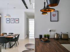 Minimalistic Modern Dining Room@Cloudtree Residence, Balakong