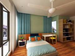 Bedroom Kids@Nature Tropical Homed