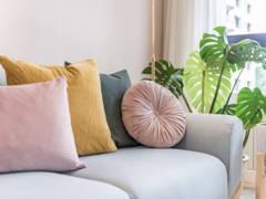 Minimalistic Scandinavian Living Room@Mont Kiara Pines Condo