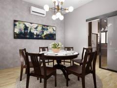 Classic Modern Dining Room@BANDAR KINRARA 7, PUCHONG
