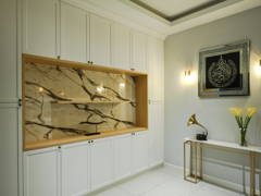 Classic Modern Foyer@Modern English terrace home