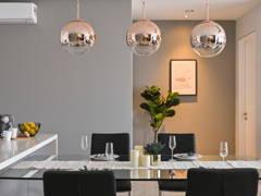Contemporary Modern Dining Room@Modern Contemporary Condo