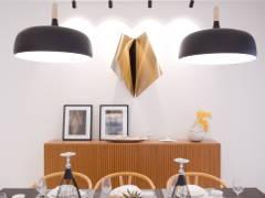 Contemporary Scandinavian Dining Room@Alpina Residensi