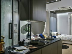 Contemporary Modern Kitchen@The Suites Show Unit