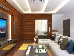 Modern Living Room@The Rafflesia