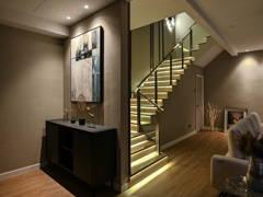 Contemporary Modern Foyer@Indah Residences Kota Kemuning Corner Terrace