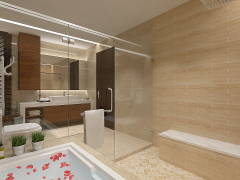 Modern Bathroom@PERDANA HEIGHT SHAH ALAM BUNGALOW HOUSE