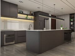 Contemporary Minimalistic Kitchen@Project South Brooks