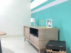 Scandinavian Living Room@Radia, Bukit Jelutong