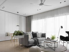 Scandinavian Dining Room Living Room@SCANDI TRENDY  - Condominium, KL