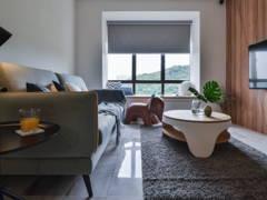 Minimalistic Scandinavian Living Room@Simplicity Home