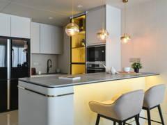 Contemporary Modern Kitchen@Casual Elegance