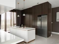Minimalistic Modern Kitchen@Jadehills Blossom Terrace
