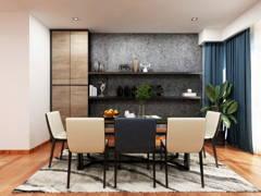 Modern Dining Room@THE POTPOURRI, ARA DAMANSARA