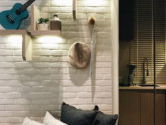 Minimalistic Modern Foyer Living Room@Sunsuria Forum