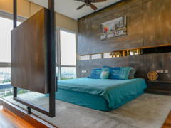 Industrial Modern Bedroom@Seringin Residences, Happy Garden
