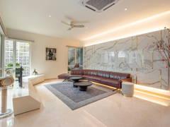 Contemporary Modern Living Room@Villa Paradise @ Idaman Villa, Petaling Jaya